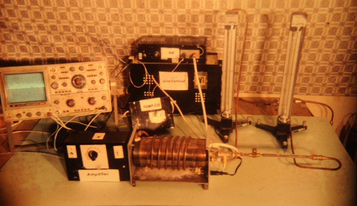 اولین طیف سنج تحرک یونی ساخته شده در ایران در سال ۱۳۶۸